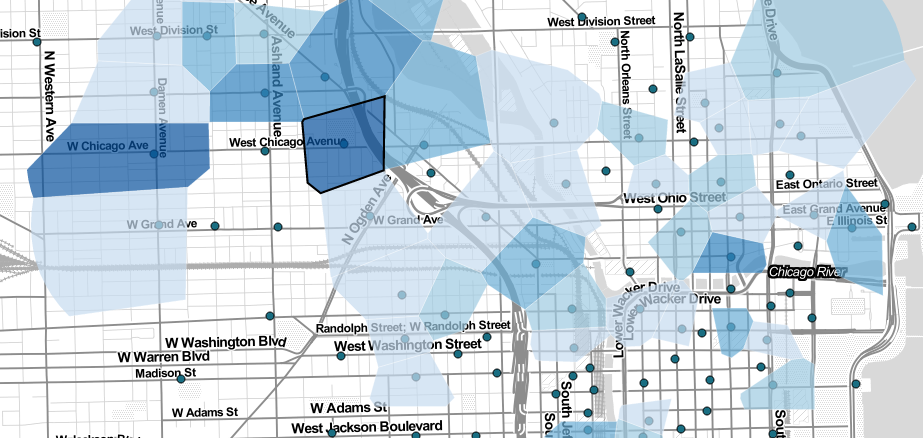 Divvy Bike Share Map