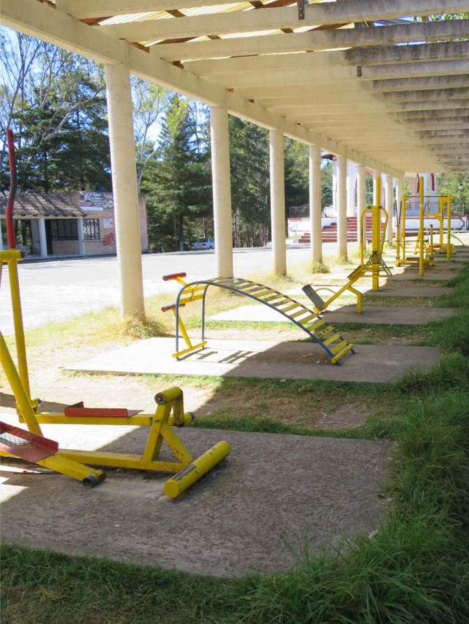 Outdoor fitness equiptment